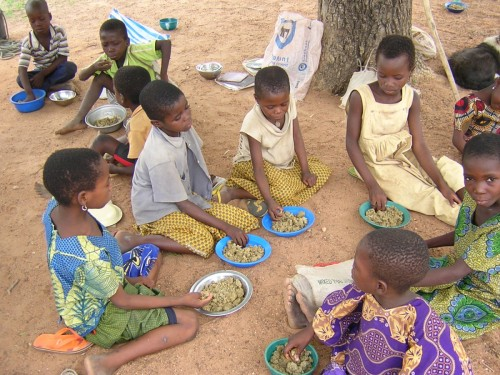 Cantine scolaire à Tami (Togo)