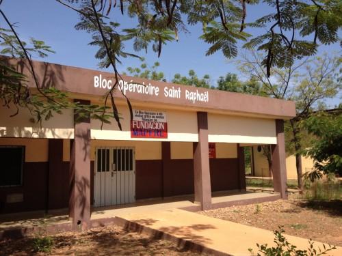 Le bloc opératoire du centre des handicapés de Bombouaka