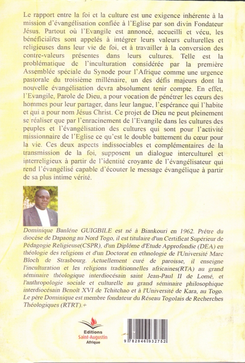 Domnique Guigbile initiation a l'inculturation couv4