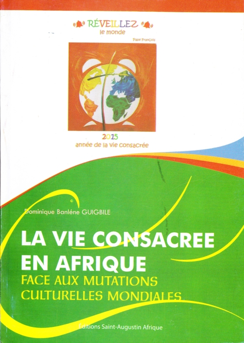 Domnique Guigbile La vie consacrée en Afrique couv1