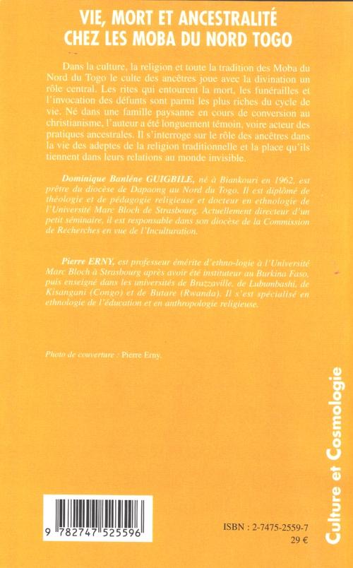 Domnique Guigbile Vie, mort, ancestralité couv4