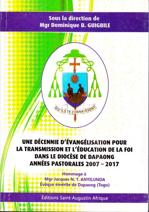 Une décennie d'évangélisation couv1